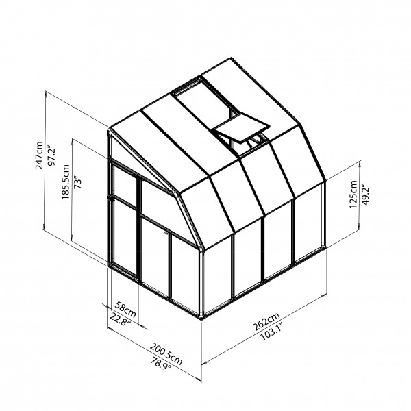8x10 Shed Kit