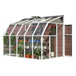 Rion 6x10 Sun Room 2 - Greenhouse Kit - White (HG7510)