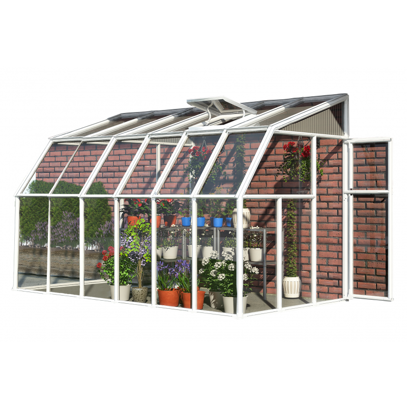 Rion 6x14 Sun Room 2 -Greenhouse Kit - White (HG7514)