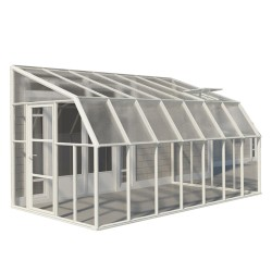 Rion 8x14 Sun Room 2 - Greenhouse Kit - White (HG7614)
