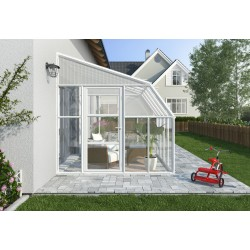 Rion  8x18 Sun Room 2 Greenhouse Kit - White (HG7618)