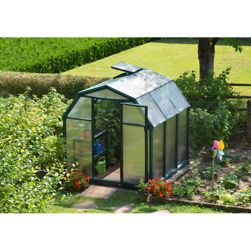 Rion 6x6 EcoGrow 2 Twin Wall Greenhouse Kit (HG7006)