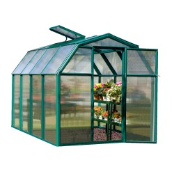 Rion 6x8 EcoGrow 2 Twin Wall Greenhouse Kit (HG7008)