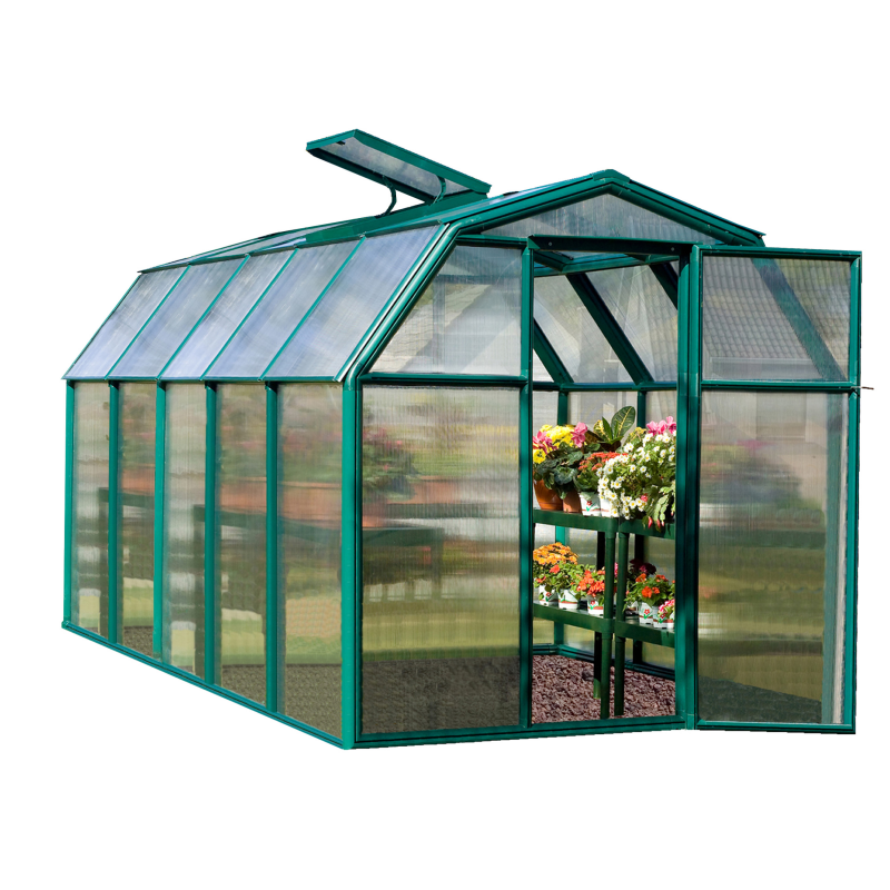 Rion  6x10 EcoGrow 2 Twin Wall Greenhouse Kit (HG7010)