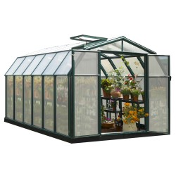 Rion 8x12 Hobby Gardener 2 Twin Wall Greenhouse Kit (HG7112)