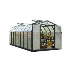 Rion 8x16 Hobby Gardener 2 Twin Wall Greenhouse Kit (HG7116)