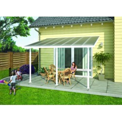 Palram 13x42 Feria Patio Cover Kit - White (HG9242)