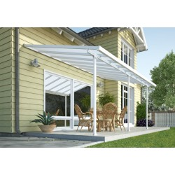 Palram 13x48 Feria Patio Cover Kit - White (HG9248)
