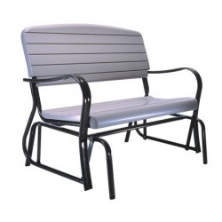 Lifetime Outdoor Glider Bench - Putty (2871)
