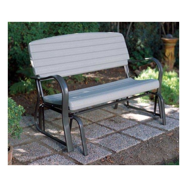 Lifetime Outdoor Glider Bench Putty 2871
