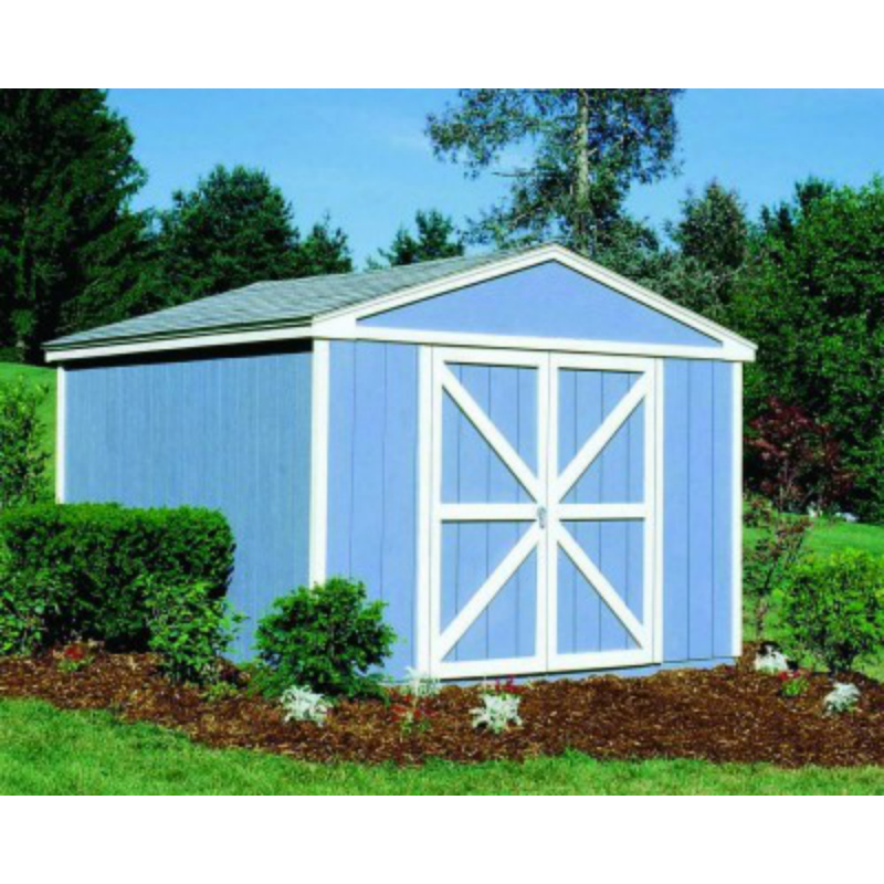 Handy Home Somerset 10x12 Wood Storage Shed Kit (18503-8)