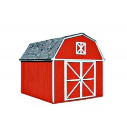 Handy Home Berkley 10x12 Wood Storage Shed Kit (18512-0)