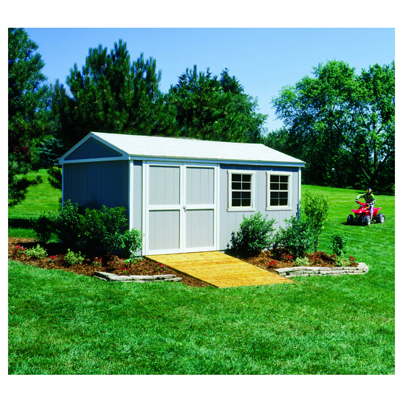 Handy Home Somerset 10x14 Wood Storage Shed w/ Floor (18415-4)
