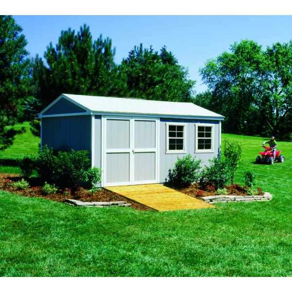 Handy Home Somerset 10x16 Wood Storage Shed Kit 18505 2
