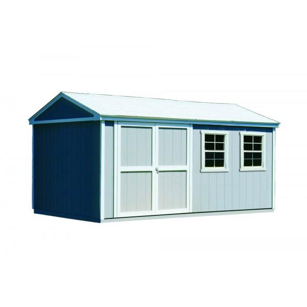 handy home somerset 10x16 wood storage shed kit 18505 2. Black Bedroom Furniture Sets. Home Design Ideas
