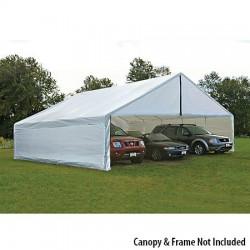 ShelterLogic 30x50 Canopy Enclosure Kit - White (27777)