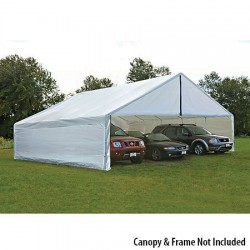 ShelterLogic 30x50 Canopy Enclosure Kit - White (27777)