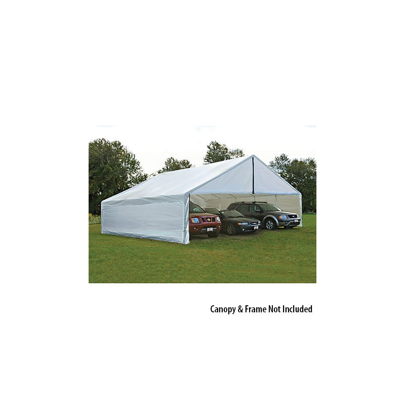 Shelter Logic 30x50 Canopy Enclosure Kit - White (27777)