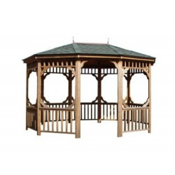 Handy Home 10×14 Monterey Oval Gazebo (19500-6)