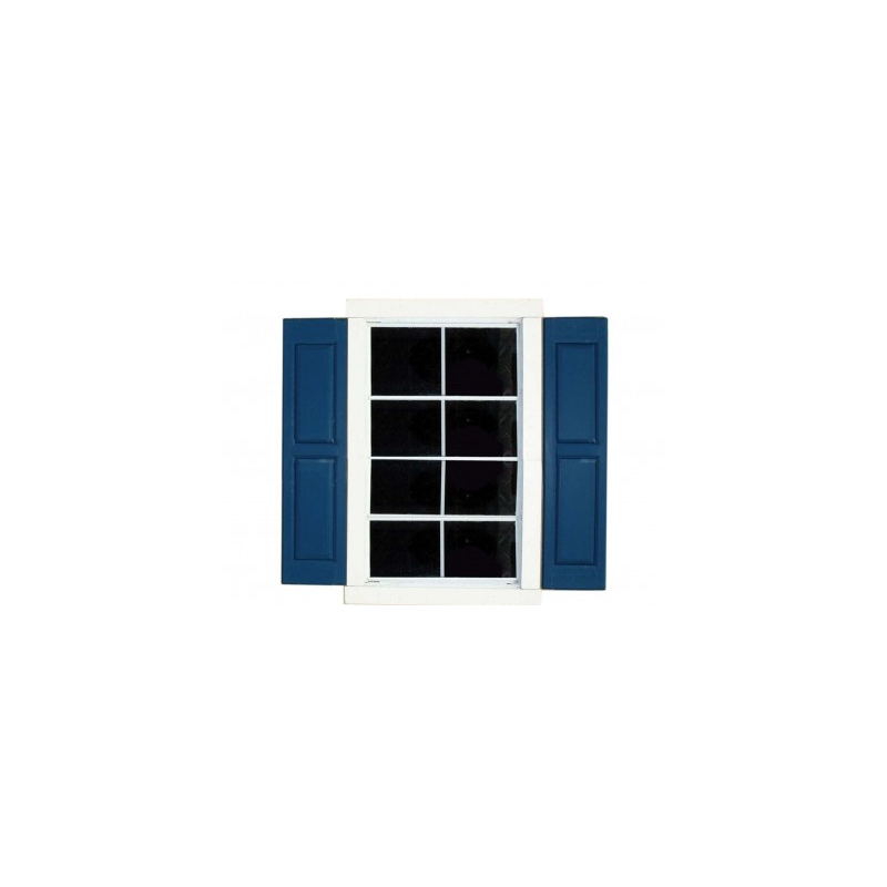 Small Square Window Shutters (Pair) (18832-9)