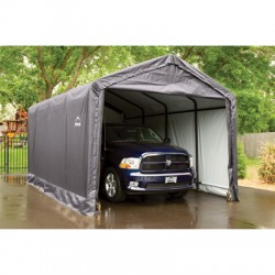 ShelterLogic 12x20x11 ShelterTUBE Storage Shelter Kit - Grey (62805)