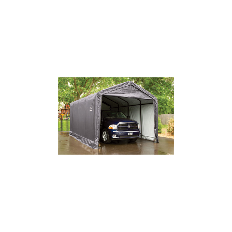 Shelter Logic 12x20x11 ShelterTUBE Storage Shelter Kit - Grey (62805)