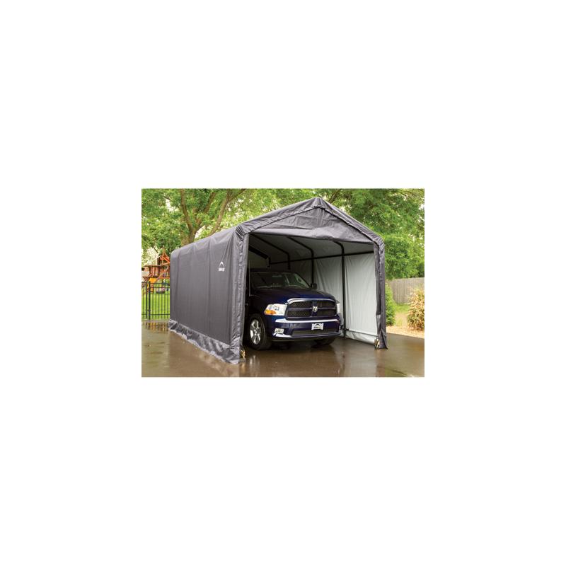 ShelterLogic 12x20x11 ShelterTUBE Storage Shelter Kit - Grey (62805)