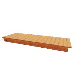 Handy Home Phoenix 8' Cedar Bench (18151-1)