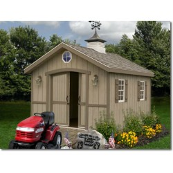 Best Barns Cambridge 10x12 Wood Storage Shed Kit (cambridge1012)