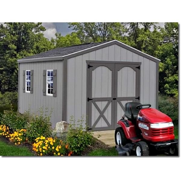 Best Barns Elm 10x16 Wood Storage Shed Kit Elm 1016