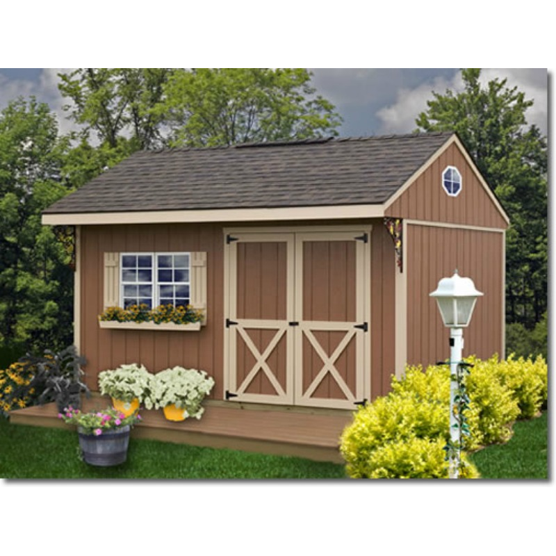 Merveilleux Best Barns Northwood 10x10 Wood Storage Shed Kit   ALL Pre Cut (NW1010)