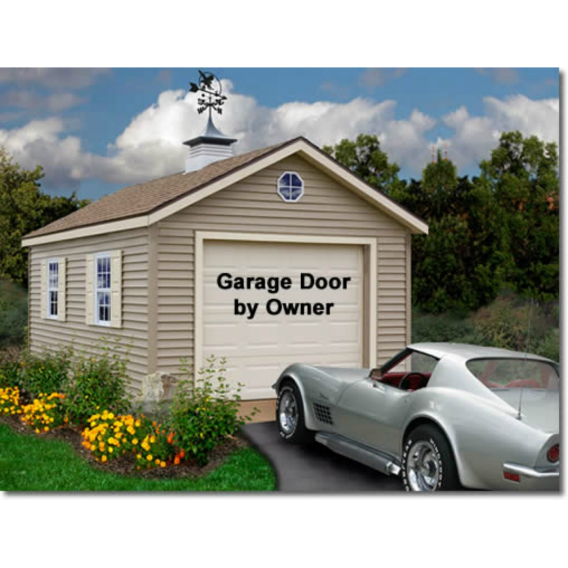 Greenbriar 12x24 wood garage shed kit all pre cut for 24 per 24 kit di garage