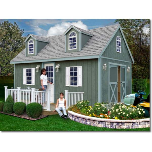 arlington 12x20 wood storage shed kit arlington 1220