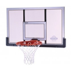 Lifetime 48 in. Shatter Proof Steel-Framed Basketball Backboard, Slam-It Pro Rim 73729