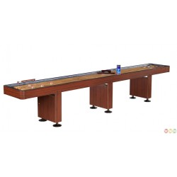 Challenger 14 Ft. Shuffleboard Table – Cherry Finish (NG1216)