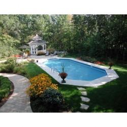 Endurapool 10x 40 In-Ground Pool - Lap Pool With Light Panel (NB5601L)
