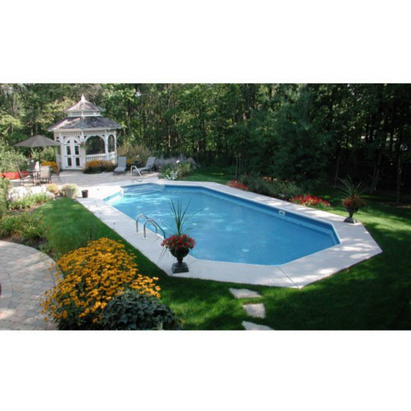 "Endurapool 20'7"" x 36'7"" In-Ground Pool - Auburn Lake (Model NB5597)"