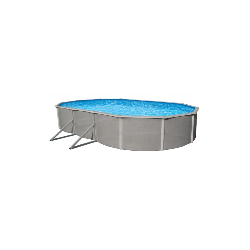 "Blue Wave Belize 18' x 33' Oval 48"" Deep Steel Pool Kit (NB2516)"