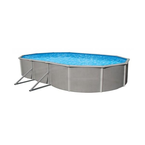 Blue Wave Belize 18 X 33 Oval 48 Quot Deep Steel Pool Kit