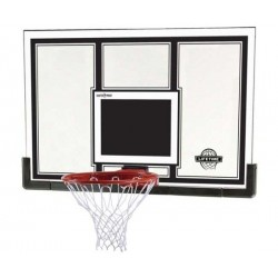Lifetime 54 in. Steel-Framed Basketball Backboard, Slam-it Pro Rim 71526