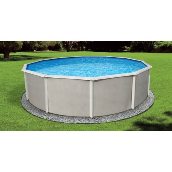 Blue Wave Belize 12 Round 48 Quot Deep Steel Pool Kit Nb2501