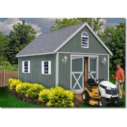 Best Barns Belmont 12x24 Wood Storage Shed Kit (belmont_1224)