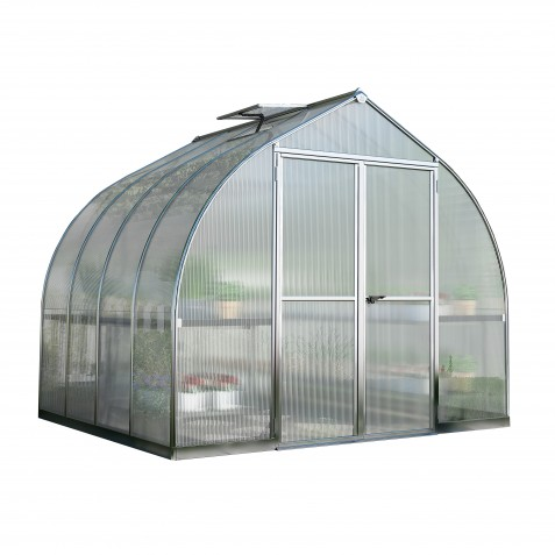 Palram 8x12 Bella Hobby Greenhouse Kit - Silver (HG5412)