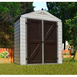 Palram - Canopia 6x3 Skylight Storage Shed Kit - Tan (HG9603T)