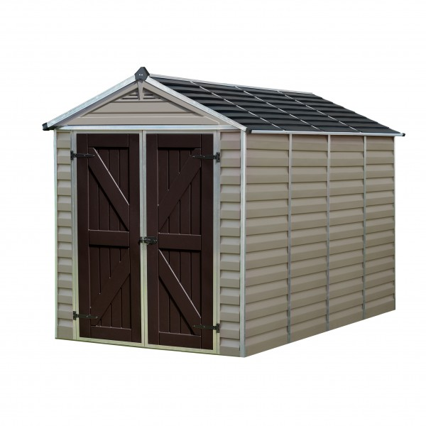 Skylights For Garage: Palram 6x10 Skylight Storage Shed Kit