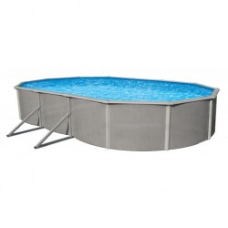 "Blue Wave Belize 21'x41' Oval 52"" Deep Steel Pool Kit (NB2540)"
