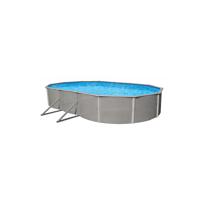 """Blue Wave Belize 21'x41' Oval 52"""" Deep Steel Pool Kit (NB2540)"""