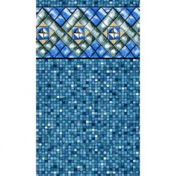 "Bermuda Tile Uni-Bead Liner - 15' Round 54"" Deep (NL930110)"