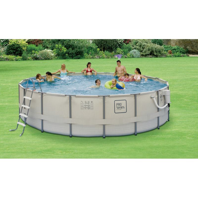 "Blue Wave Proseries™ 15' Round 48"" Deep Metal Frame Pool Kit (NB2030)"