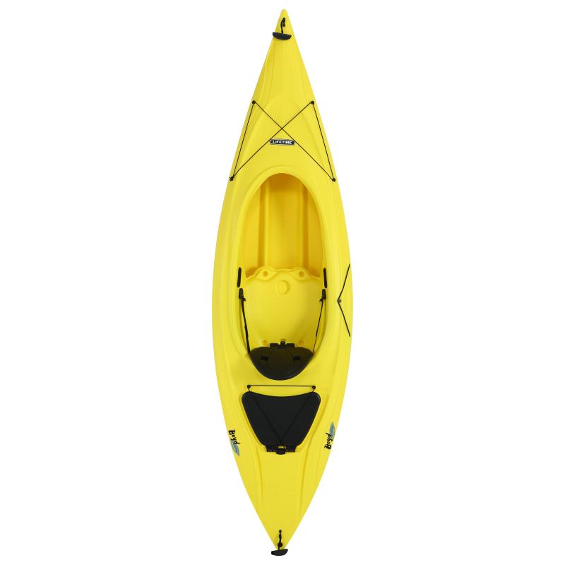 Lifetime Boyd 9 ft. 8 in.Sit-Inside Kayak (Yellow) 90195